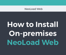 Install NeoLoad Web On-premise
