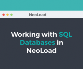 Working with SQL Databases in NeoLoad