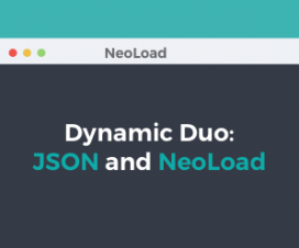 JSON and NeoLoad