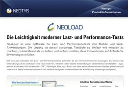 NeoLoad - Produktinformationen