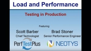 Load and Performance Testing featuring Scott Barber Placeholder