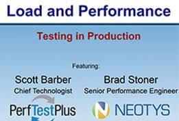 Testing in Production Webinar