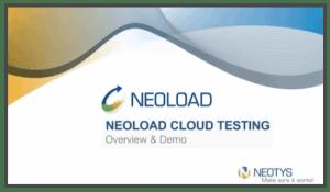 Neoload Cloud Testing