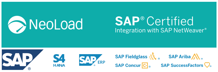 NeoLoad is an SAP Certified Technology - Neotys